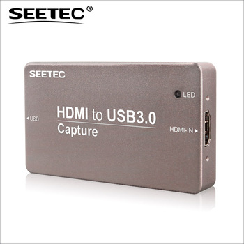 QuickTime Broadcaster SEETEC metal case mini signal converter camera hdmi capture