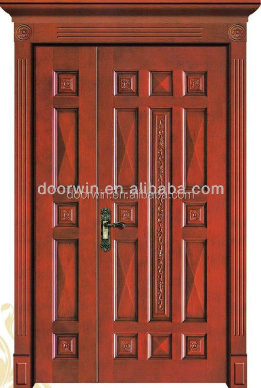 China supplier old antique wood main door models buy for Main door model