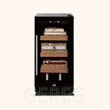 JF-28C 400pcs spanish cedar wooden cigar humidor box