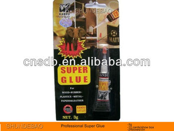 SUPER GLUE 1PC/CARD ALUMINIUM TUBE 1.5G 2G 3G