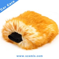 Long Hair Sheepskin Car Wash Mitt