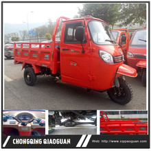 China 250cc water cooled gasoline closed cabin three wheel tricycle and spare parts