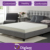 12 Inch Thick - 4ft 6 Double Size Memory Foam Mattress
