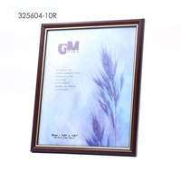 10R Maroon Colour Wooden Painting Frame With for Home Decoration