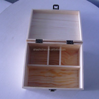 Decorative light wooden gift box Manufactory in shanghai