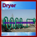 Saw dust dryer for producing wood pellets