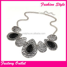 fashion jewelry collar necklace high collar beaded necklaces