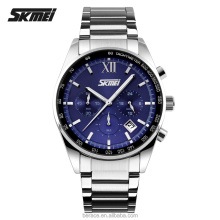 SKEMI waterproof japan movt quartz watch stainless steel back factory price