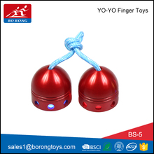high speed stainless steel hand bearing color spin finger light toys for kids with good quality BS5