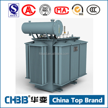 100% guaranteed no leakage 11KV/0.4kv 1000KVA oil immersed power transformer