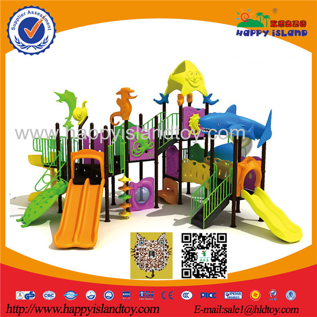 2017 The Most Poplar And New Outdoor Playground/customized Kids Playground Outdoor Slide/children Amusement Slide Equipment