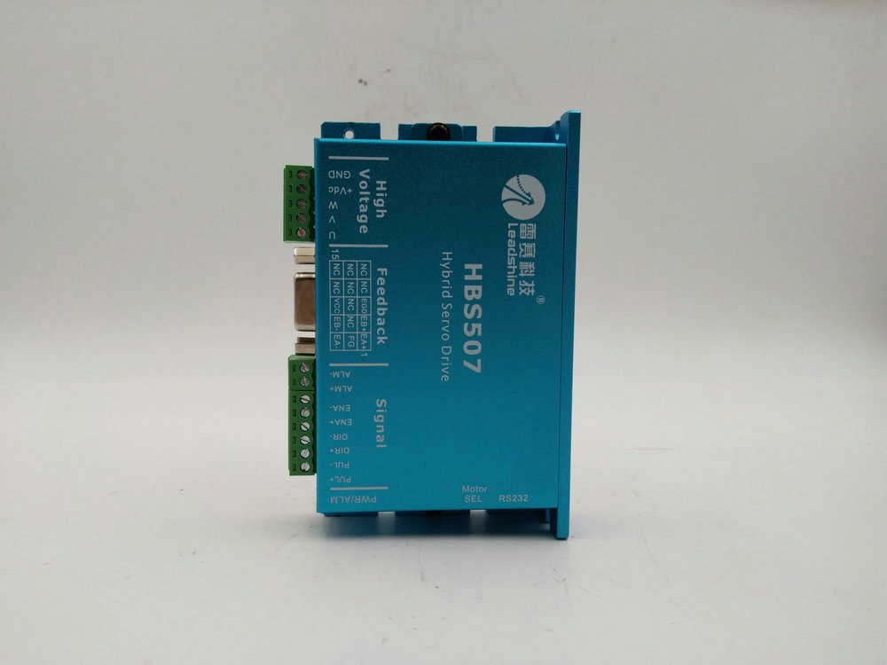 Leadshine matching 57mm nema23 motor driver HBS507 3-phase stepper motor driver