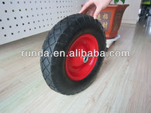 16 inch small rubber wheels