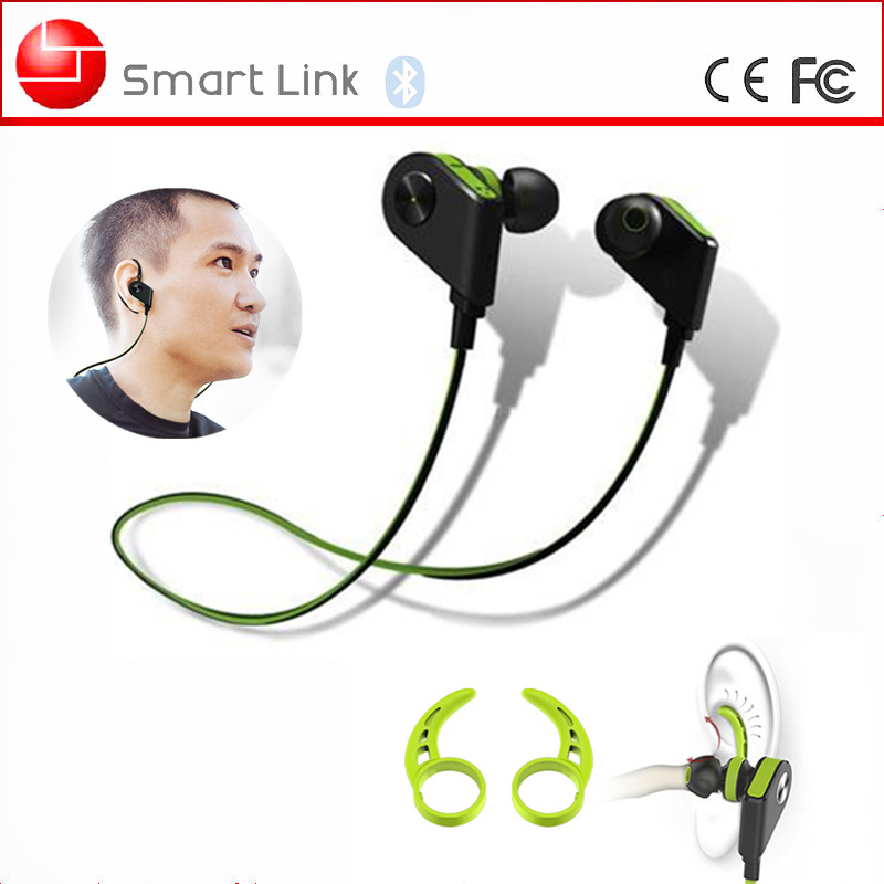Flat Cable In-ear Smart Magnetic Control Bluetooth V4.1 Sweatproof Sport Earbuds