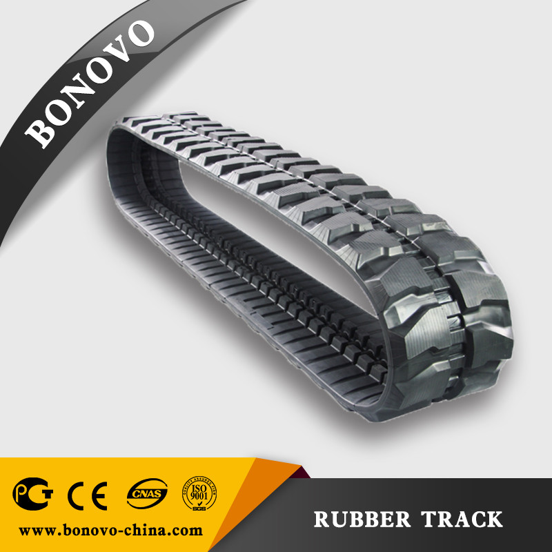 Rubber crawler PC58 400*72.5*72 / High quality Rubber crawler track