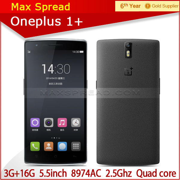High Quality 64GB 4G LTE 5.5 Inch 1920x1080P Oneplus One SmartPhone pear phone for sale