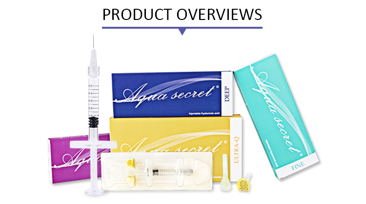 HA dermal filler injection 1ml 2ml 10ml