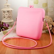 Fashion shopping silicone jelly handbag/ silicone storage bag for women