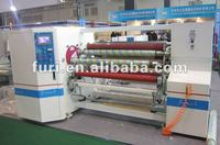 FR-808 glue tape roller machine/rewinding tape log roll machine/tape slitter rewinder