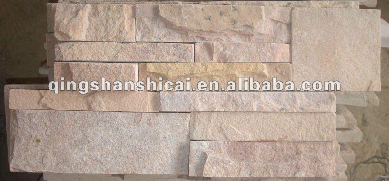 Arenaria rosa z mattoni interni decorativi muri di mattoni - Piastrelle per muri interni ...