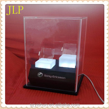 Manufacturing acrylic led display cover