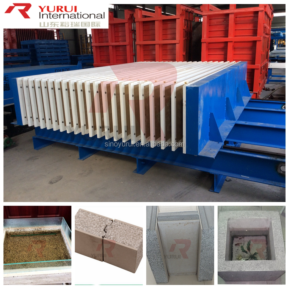 concrete wall panels making machine,light weight concrete block mould car