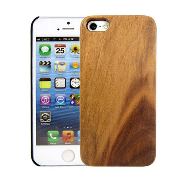 For iPhone 5 5S The Classic Elegance Wood PC Combo Case Cover