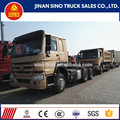 SINOTRUK HOWO 6x4 manual transmission type 371hp trucks and tractors