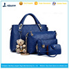 wholesale fashion popular style 4 in 1 bags woman handbags