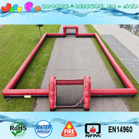 Inflatable portable customized color&size soccer field for sale