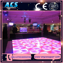 2015 ACS easy install DMX LED indoor/outdoor dance floor for night club decoration