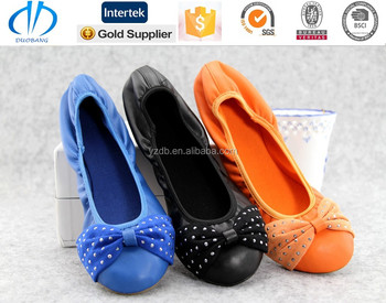 fast supplier online women foldable shoes