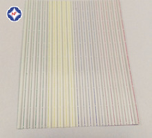4.8mm width single wire gang paper/plastic twist tie for bag bundling