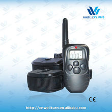 China factory priced Eco-friendly 4 in1 vibration stimulation 2 dogs remote education collar WT717