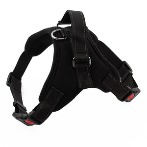 Dog Harness Vest No Pull , Adjustable Heavy Duty reflective Safety Pet Harnesses with Handle for Small Medium Large Dogs
