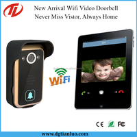 Android/iOs APP IP 4G Wifi Door Phone System Wireless Video Intercom