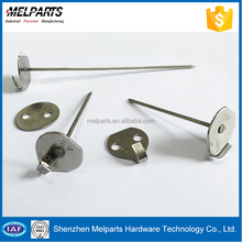 Hardware fastener fence post metal anchors