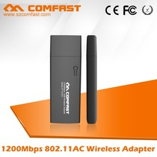 New Arrival COMFAST CF-912AC 802.11AC 2.4Ghz/5.8Ghz Wireless Wifi USB Lan Adapter Network Card for windows 192.168.1.1