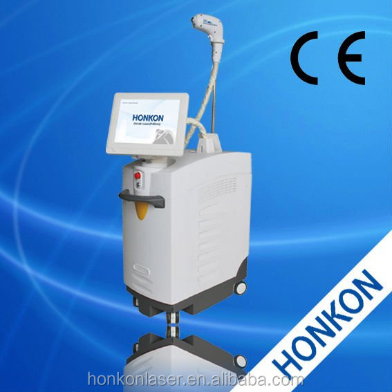 2014 new design 808nm diode laser hair removal machine in hot selling