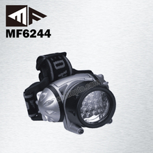 Hot Sale 18+2 Red Led Helmet With Head Lamp
