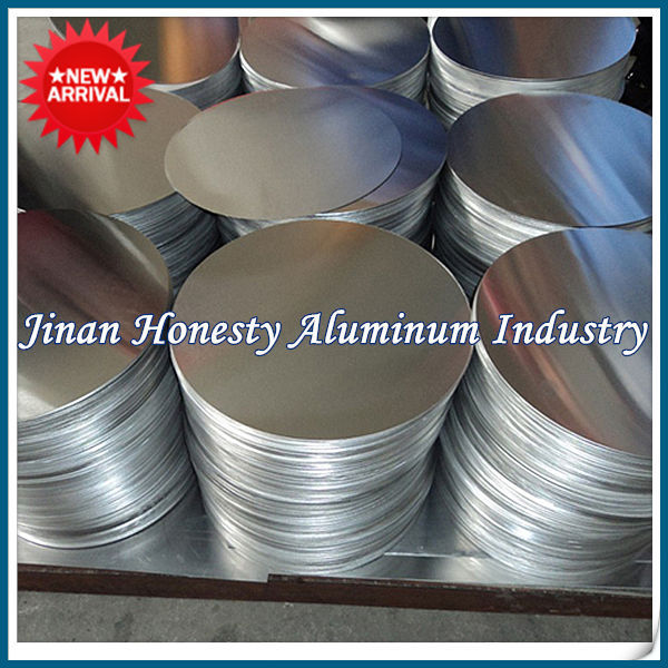 Good Quality 1060 1100 3003 Aluminum Circle for turkey Barrels