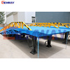 Mobile warehouse forklift movable container loading dock ramps for sale