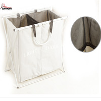 new design good quality colorful collapsible laundry basket