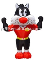 inflatable cartoons(inflatable toys/slides/household jump bed/Christmas toy)