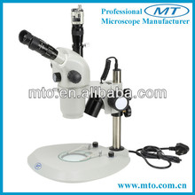 MZS0870T 8X-70X magnify micro objects continually zoom stereo digital microscope for school,science research
