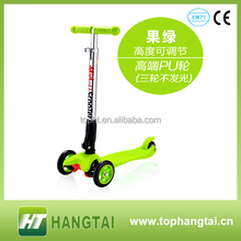 China kids Wholesale 3 Wheel Kick Scooter/ Toy scooter/ T-bar scooter