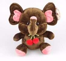 WeiBao Custom Made Stuffed toys Animal Plush Toy cute Elephant