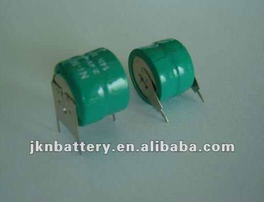 2.4v 330mah nimh button cell battery pack rechargeable