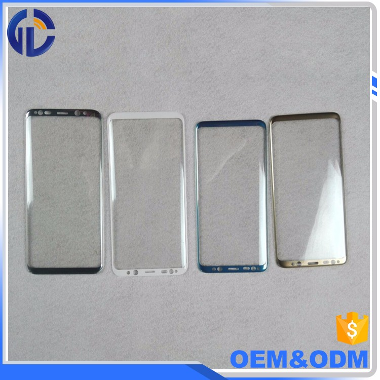 Customized Size Best Price High Clear Screen Protector Tempered Glass For Samsung Galaxy s8