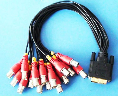 CCTV Systerm D-SUB to BNC Cable